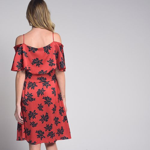 Vestido-Babados-Shoulder-Off-Floral