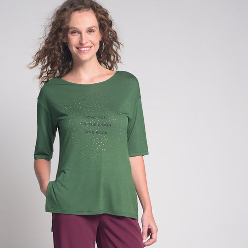 Camiseta-Aplicacao-Love-You-Verde