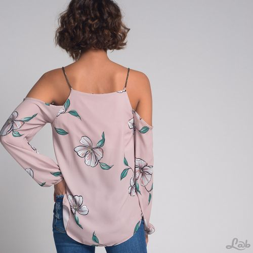 Blusa-Flores-Shoulder-Off-Rosa