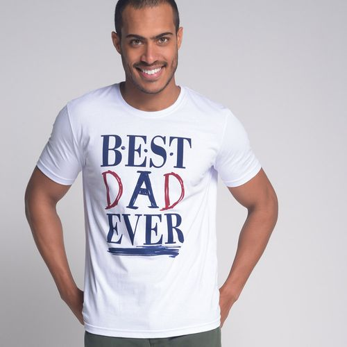 Camiseta-Best-Dad-Ever-Branco
