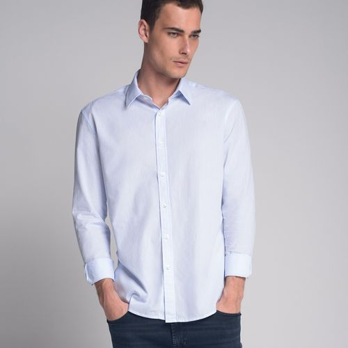 Camisa-Slim-Mini-Azul
