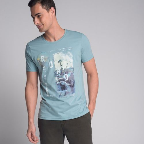 Camiseta-On-The-Road-Azul