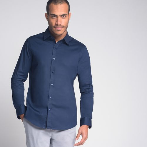 Camisa-Super-Slim-Lisa-Marinho