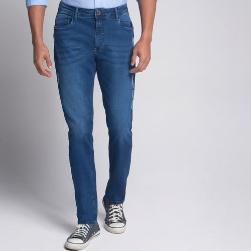 Calca-Regular-Jeans-Iron-Azul