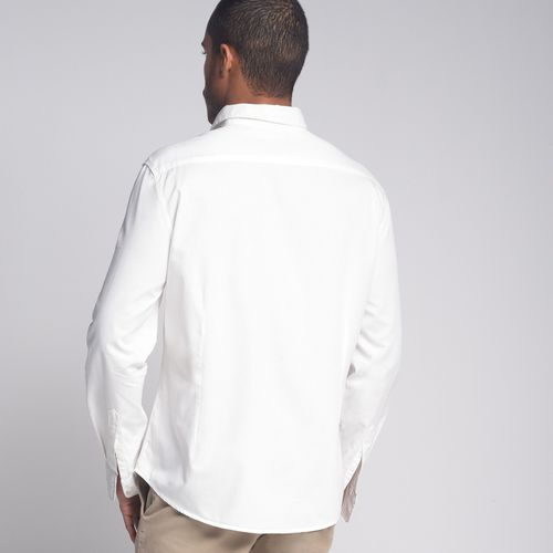 Camisa-Slim-Maquinetada-Off-White