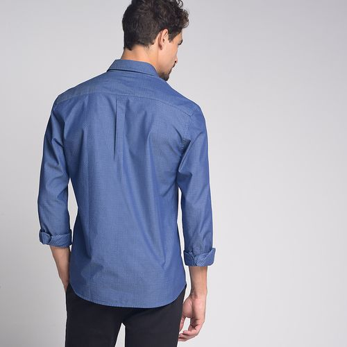 Camisa-Slim-Fake-Denim-Azul