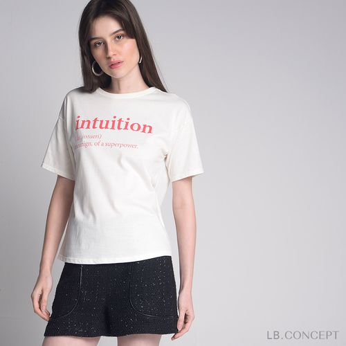 T-shirt-Intuition-Off-White
