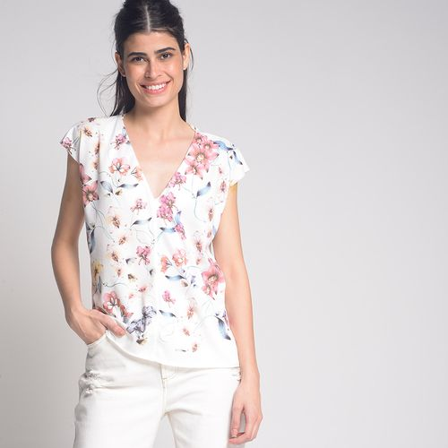 Blusa-Floral-Glitter-Off-White