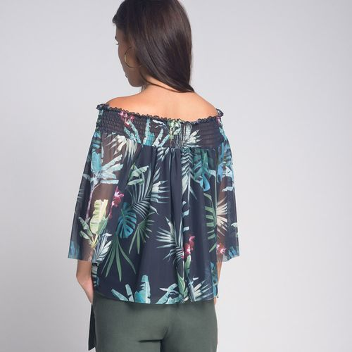 Blusa-Cigana-Tule-Amazon-Estampada