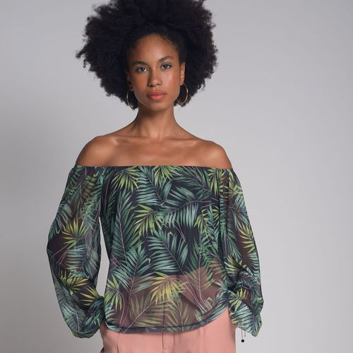 Blusa-Tule-Cigana-Leaf-Estampada