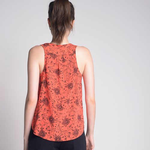 Top-Regata-Orange-Flower-Estampado