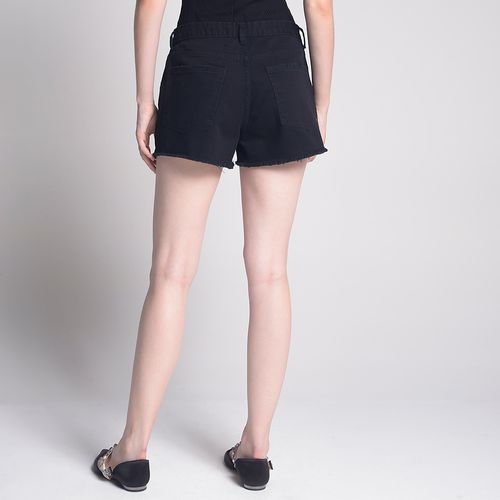 Shorts-Color-Botoes-Vista-Preto