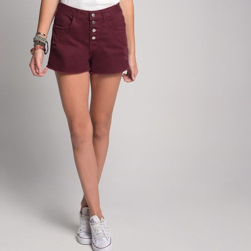 Shorts-Color-Botoes-Vista-Cereja