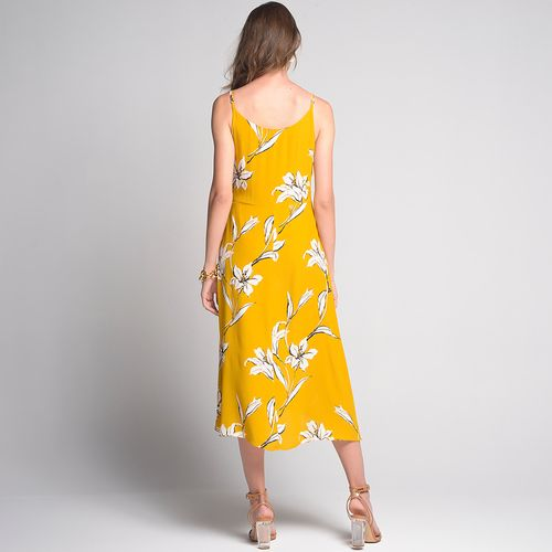Vestido-Yellow-Flower-Estampado