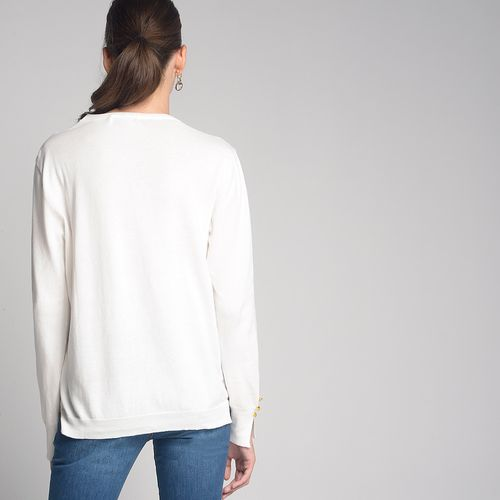 Tricot-Cardigan-Off-White